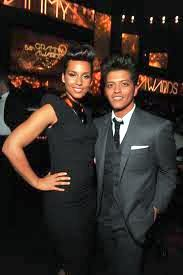 Bruno Mars and Alicia Keys